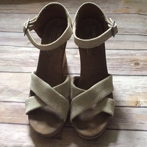 TOMS Sienna Wedges